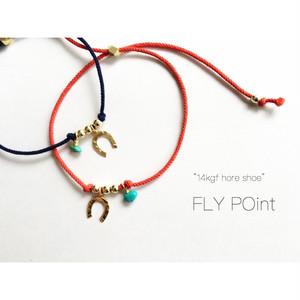 -14Kgf- horse shoe strings bracelet/anklet