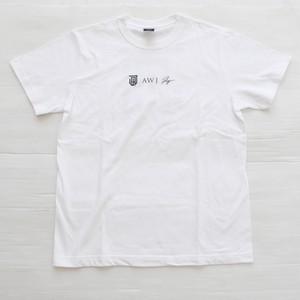 AWJ original back logo T shirt / white