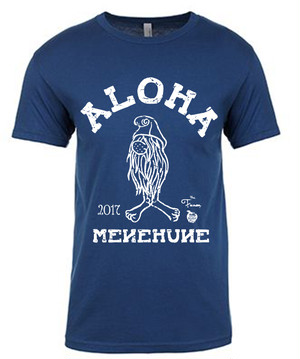 [MAN] MENEHUNE TEE NMC x the Fanon SPECIAL EDITION COOL BLUE