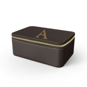 Box Premium Shrink Leather Case (Cigar Brown)