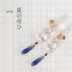 sold out「夏の弔ひ」のイヤリング