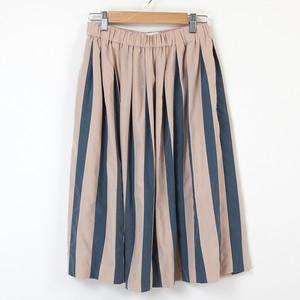 ストライプギャザースカート
