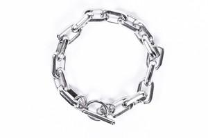 【316L square chain bracelet】/ SILVER