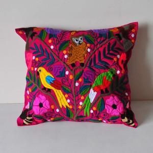 メキシコ シナカンタン刺繍クッションカバー(B)