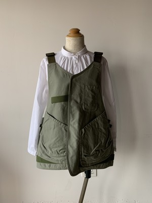 WORKS & LABO.× makerhood Reversible Gardener's Apron ユーカリ