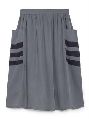 《BOBO CHOSES 2018AW》Happy Sad Empty Midi Skirt / 2-7Y