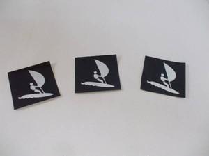 ピクトステッカー「ウインドサーフィン」(3枚組)屋外可・送料無料