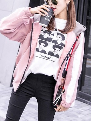【outer】version of BF style loose thin coat