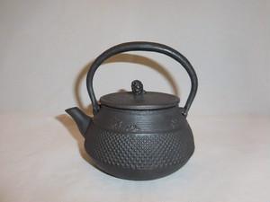 鉄瓶(あられ&桜 )iron kettle(hail&cherry blossoms)(No18)