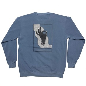 Chilly Source Grab the Logo Sweat【Blue Jean】