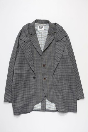 LAYERING JACKET (GREY)