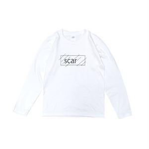 scar /////// OG KIDS L/S TEE (White)