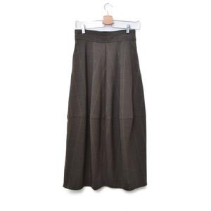 RIM.ARK / リムアーク | コクーンスカートロングスカート | 38 | ブラウン