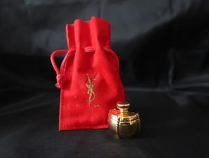 YSL Perfume motif Brooch