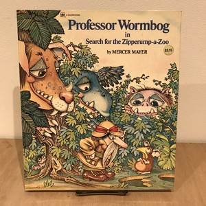 Professor Wormbog in Search for the Zipperump-a-zoo / Mercer Mayer(マーサー・メイヤー)