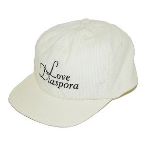 NOROLL Love Diaspora Corduroy 6-Panel (Off White)