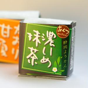 静岡ようかん(濃いめ抹茶味)