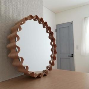 e.wood+クラフト工房:雑貨組立キット(鏡:Sサイズ)