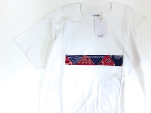 【yoused】Box Panel Tee (bandana)