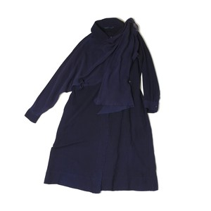 Silkroad Dress  - Robe indigo / Silkworm