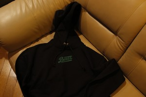 'Blunts' blazz B.I.G HOODY 10oz ※Sample1点物 (XL)