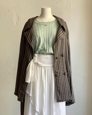 made inUSA vintage stripe jacket
