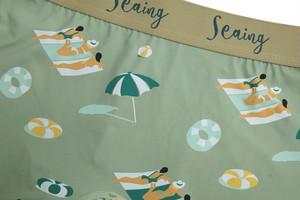 【seaing】BEACH GIRLS ボクサーパンツ