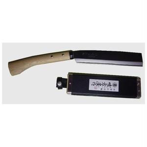 鞘鉈 210mm 片刃 鞘付 SN-210S