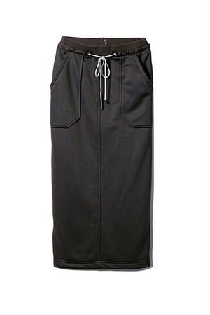 ジャージータイトスカート <カーキ>