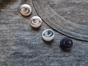 BUTTON (S) 1個
