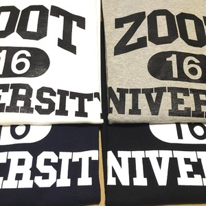 """ZOOT UNIVERSITY"" T-Shirt w/CAN badges"