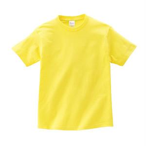 キッズ クルーネックTシャツ (半袖) イエロー