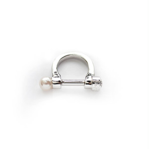 BUCKLE RING/SILVER