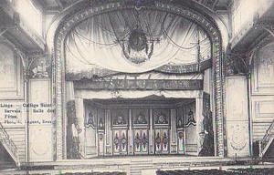 古絵葉書エンタイア「サン=セルヴェ校」(1908年か)