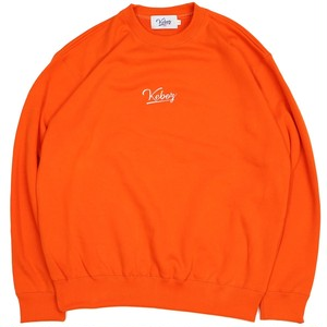10oz LOGO CREWNECK ORANGE