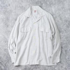 """1950s  """" Lancer """" Vintage  Cotton  Shirts  M A927"""
