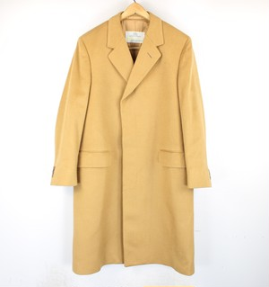 .VINTAGE Aquascutum CASHMERE100% CHESTERFIELD COAT MADE IN ENGLAND/ヴィンテージアクアスキュータムカシミヤ100%チェスターフィールドコート 2000000040929