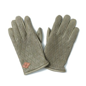 OUTSIDERS LEATHER GLOVE (KHAKI) / RUDE GALLERY BLACK REBEL