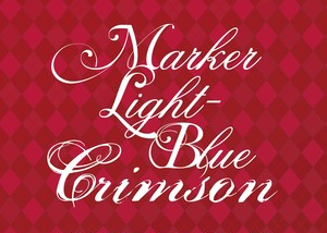 舞台「 MARKER LIGHT-BLUE Crimson」パンフレット【ODDP-010】