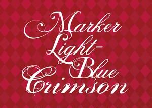 舞台「 MARKER LIGHT-BLUE Crimson」パンフレット【ODDP-010】
