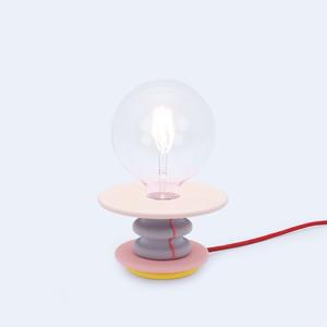 ピンクテーブルランプ|Frutti Lamp