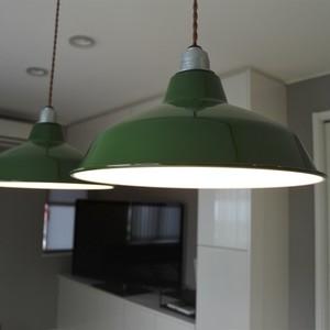ペンダントライト ランプ 照明 Patrick(パトリック) ホーロー 琺瑯 LED対応