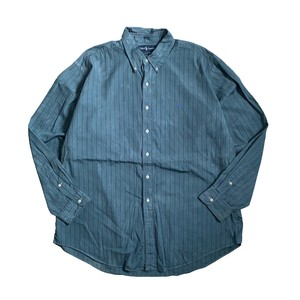 USED SHIRTS OVERDYED -VINTAGE BLUE- / G(ラルフローレン)
