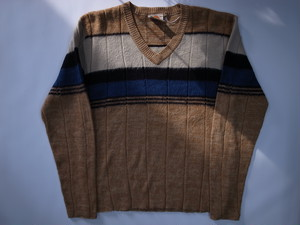 Vネック モヘアセーター SATURDAY'S V-NECK Mohair Sweater
