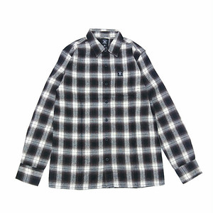 HARD LUCK - CHARLIE L/S FLANNEL (Brown/Black)