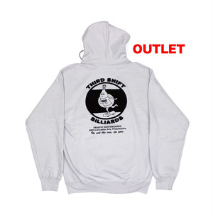 【アウトレット】TRAFFIC THIRD SHIFT PULLOVER HOODIE SILVER サイズM