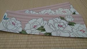 WA・KKAの半巾帯「百花王」