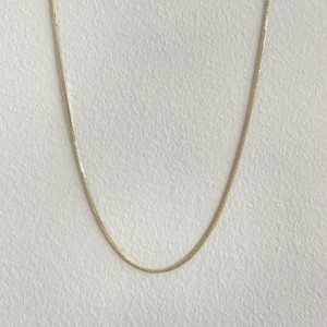 【14K-3-26】16inch 14K real gold chain necklace