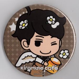 吉野裕行 缶バッジ Kiramune Cafe 2017×アニメプラザ
