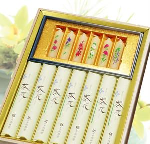 茶花少煙/蜜蝋夕霧 2種桐箱(ご進物用)
